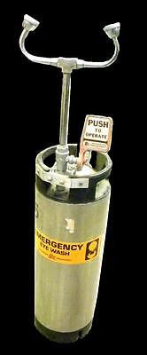 PORTABLE EMERGENCY EYE WASH NSDA-VS-01 5 GALLON TANK 130 PSI