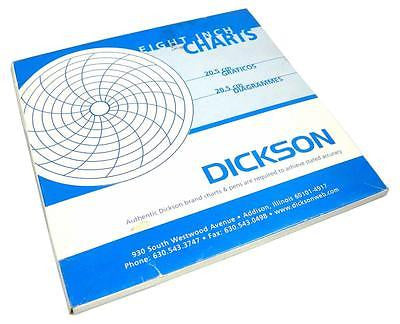 BRAND NEW DICKSON EIGHT INCH CHARTS 20.5 CM DIAGRAMS