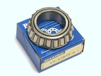 BRAND NEW IN BOX BEARINGS SINGLE CONE BEARING LM-67049-A (3 AVAILABLE)