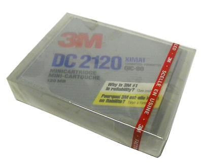 NEW 3M DC2120 MINI DATA CARTRIDGE 120 MB