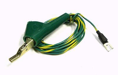 JP-8681 ALLIGATOR CLIPS TO SPADE LUG TEST LEAD