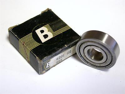BRAND NEW IN BOX BEARINGS LIMITED SHIELDED BEARING 12MM X 32MM X 10MM 6201 ZZ