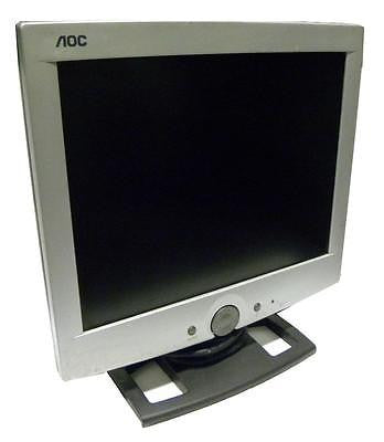 "AOC LM520 15"" LCD COMPUTER MONITOR - SOLD AS IS"