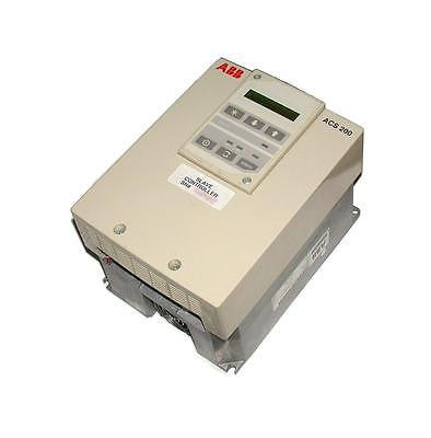 ABB ASEA BROWN BOVERI VARIABLE SPEED AC DRIVE 1 1/2 HP MODEL ACS201-2P1-3-00-10