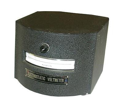 VERY NICE SENSITIVE RESEARCH ELECTROSTATIC VOLTMETER ESH (2 AVAILABLE)