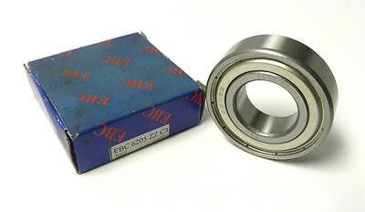 BRAND NEW IN BOX EBC 6205 ZZ C3 BALL BEARING 25 MM X 52 MM X 15 MM