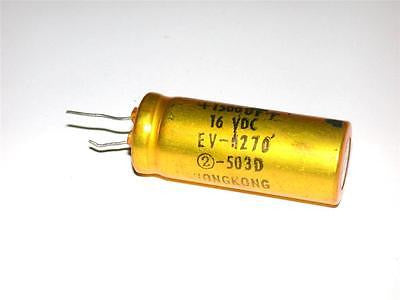 BRAND NEW CAPACITOR 1500UF 16VDC EV-1270 (2 AVAILABLE)