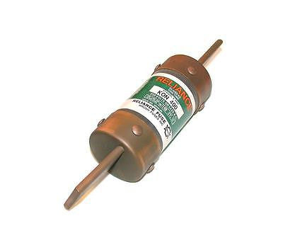 BUSSMAN RELIANCE CLASS K5 400 AMP FUSE 250 VAC MODEL KON 400