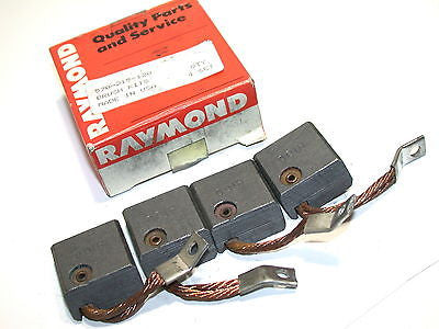 UP TO 4 BOXES OF 4 RAYMOND FORKLIFT MOTOR BRUSHES 570-215-120 FREE SHIPPING