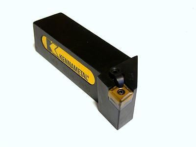 "KENNAMETAL TOOL HOLDER W/CARBIDE TIP 1-1/2"" SQUARE SHANK MODEL NE9 DCLNL-245D"