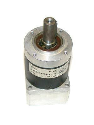 NEUGART SERVOMOTOR GEARHEAD 12: 1 RATIO   MODEL PLE60