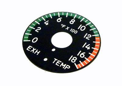 NEW HORIZON AEROSPACE 2230232 EXHAUST TEMPERATURE DIAL 0-18°F X 100