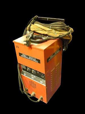 PRO WELD ARC 500 STUD WELDER W/ GUN 200/230/460 VAC 100/100/50 AMP SINGLE PHASE