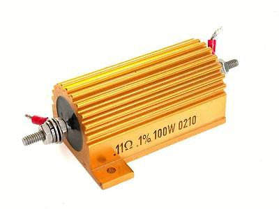 ALUMINUM HOUSED WIREROUND RESISTOR 0.11 OHM 0.1% 100W LOAD MODEL UAL-100