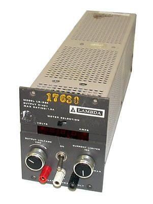 LAMBDA POWER SUPPLY OUTPUT 0-40V 1.8A MODEL LQ-522 SOLD AS IS
