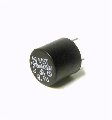BRAND NEW MINIATURE SLOW BLOW MICRO FUSE 800MA 250V MODEL MST (2 AVAILABLE)