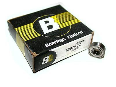 BRAND NEW IN BOX BEARINGS LIMITED BEARING 6MM X 13MM X 5MM 628/6 ZZ