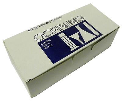 BRAND NEW BOX OF 72 CORNING 9820-12 PYREX CULTURE TUBE 12 MM X 75 MM (3 AVAIL.)