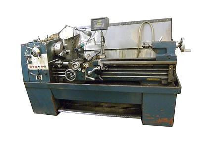 "15.5"" X 50"" MASTERTURN 1500 METAL LATHE - DRO, 16 SPEEDS, 7.5 HP, TOOL POST"
