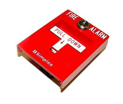 new simplex 0630763 fire alarm pull station surplus select