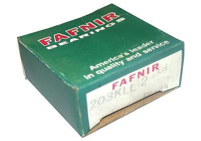BRAND NEW IN BOX FAFNIR BALL BEARING 203KLL 2 (6 AVAIL)