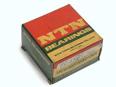 BRAND NEW IN BOX NTN BEARING 31.75MM X 72MM X 42.9MM UCS207-104D1NR (5 AVAIL)