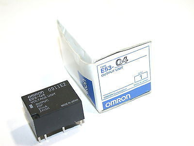 UP TO 2 NEW OMRON VOLTAGE OUTPUT MODULES E53-Q4