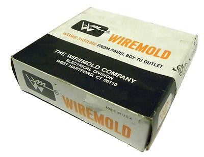 NEW IN BOX WIREMOLD G-3011E GRAY 90° FLAT ELBOW