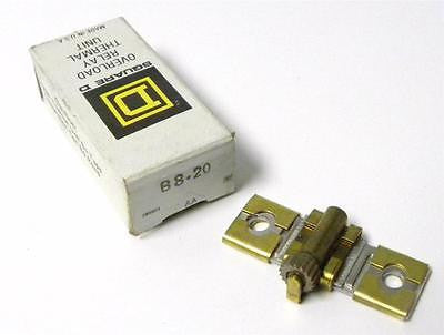 BRAND NEW SQUARE D OVERLOAD THERMAL UNIT HEATING ELEMENT MODEL B8.20 (3 AVAIL.)
