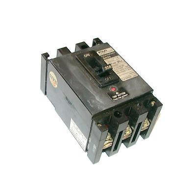 FUJI ELECTRIC 3-POLE 20 AMP CIRCUIT BREAKER 600 VAC MODEL  SA33/20