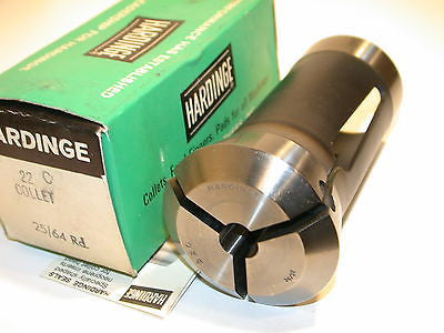 "NEW 25/64"" Hardinge 22C Collets Brown & Sharpe"