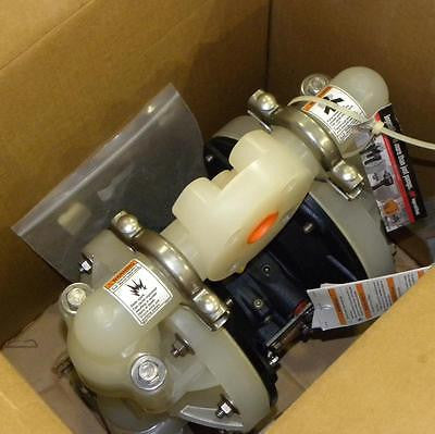 "NEW INGERSOLL RAND IR ARO 670028 SPECIAL 1"" NON-METALLIC DIAPHRAGM PUMP -2 AVAIL"