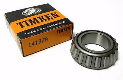 "NEW IN BOX TIMKEN 14137A TAPERED BEARING SINGLE CONE 1.3750"" ID X 0.7710"" WIDTH"