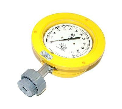 3D INSTRUMENTS AIR GAUGE 0-60 PSI 1/4 NPT MODEL 25504-26C14