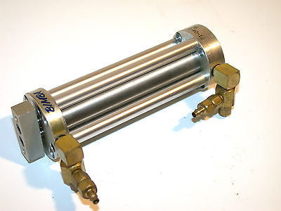 "UP TO 2 BIMBA 3 1/2"" PANCAKE AIR PNEUMATIC CYLINDERS FT-04-3.5-3"