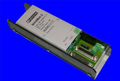 VERY NICE PHOENIX CONTACT INTERBUS-S 24 VOLTS BUS TERMINAL MODULE IBS 24 BK/LC 2