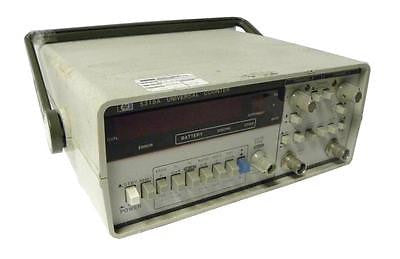 HEWLETT PACKARD HP UNIVERSAL COUNTER MODEL 5315A
