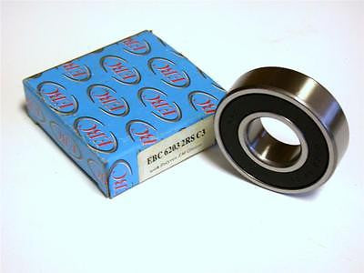 BRAND NEW IN BOX EBC SEALED BALL BEARING 18MM X 40MM X 12MM 6203 2RS C3
