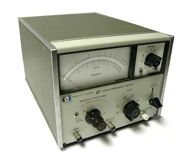 HEWLETT PACKARD HP 5210A FREQUENCY METER