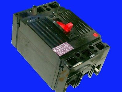 3 GENERAL ELECTRIC 15 AMP CIRCUIT BREAKERS # THED136015