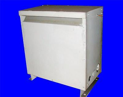 VERY NICE MGM 150 KVA TRANSFORMER AD370-NO448 HT TYPE 480 VOLTS 208Y/120 VOLTS