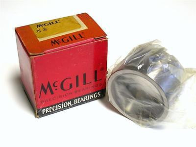 "BRAND NEW IN BOX MCGILL ROLLER BEARING 1.56"" ID 2"" OD MI 25 (2 AVAILABLE)"