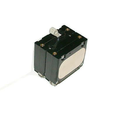 AIRPAX  1  AMP 2-POLE CIRCUIT BREAKER 250 VAC MODEL APG66-1-61-102-09