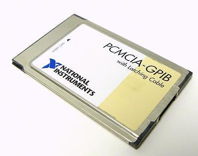 NATIONAL INSTRUMENTS PCMCIA-GPIB CARD