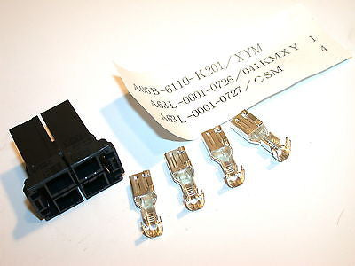 UP TO 4 FANUC DISCHARGE REGISTER CZ6 CONNECTORS A06B-6110-K201 XYM