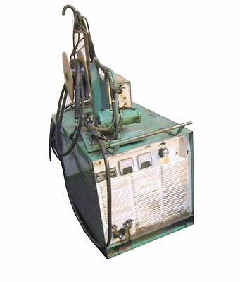 L-TEC 650 CV WELDER ON WHEELS 230/460V W/ UNION CARBIDE MIG-35 FEEDER & TORCH