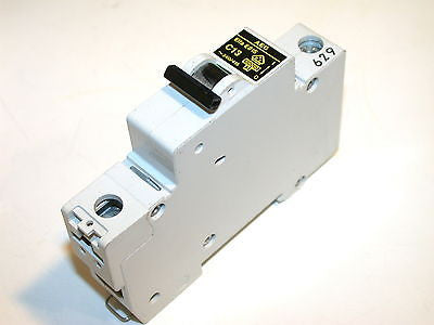 AEG 13 AMP 277/480V  CIRCUIT BREAKERS DIN MOUNT E81S C13