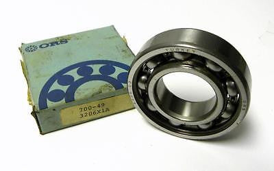 NEW ORS 6206 C3 SINGLE ROW BALL BEARING 30MM X 62MM X 16MM (3 AVAILABLE)
