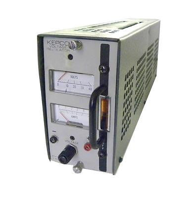 KEPCO VOLTAGE REGULATOR 0-40 VDC 0-0.5 A MODEL PCX 40-0.5AT