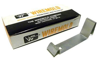 NEW BOX OF 10 WIREMOLD G-4000WC PLATED WIRE CLIP